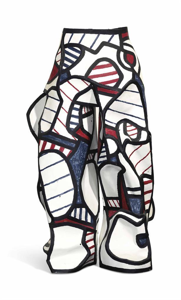 Jean Dubuffet-Pantalon Aux Chausses Ii-1973