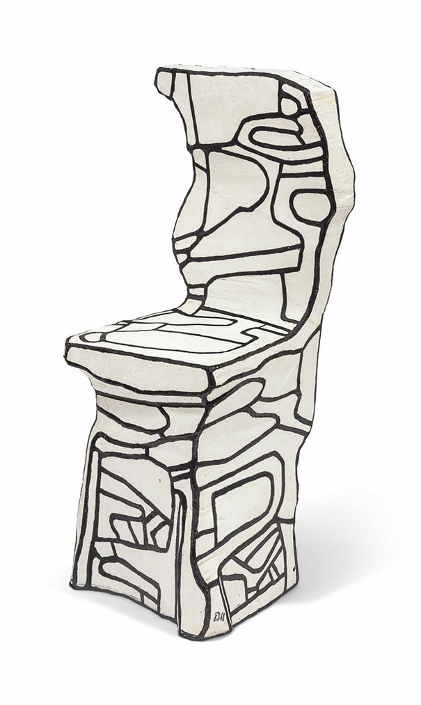 Jean Dubuffet-Petit Chaise I-1968
