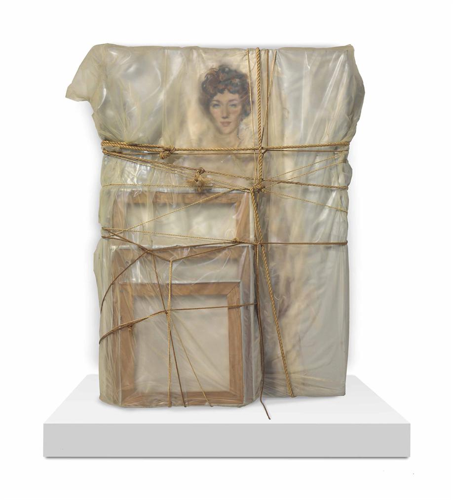 Christo and Jeanne-Claude-Portrait Of Judith Lieb-1969