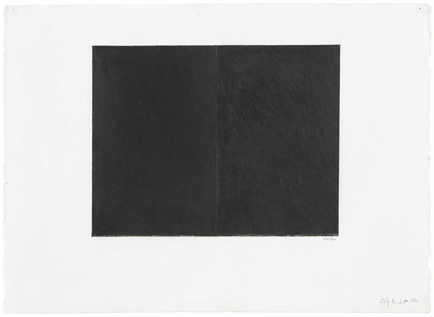Brice Marden-Study For Lot-1968