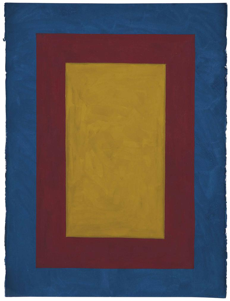 Sol LeWitt-Rectangle Within Rectangle Within Rectangle-1990