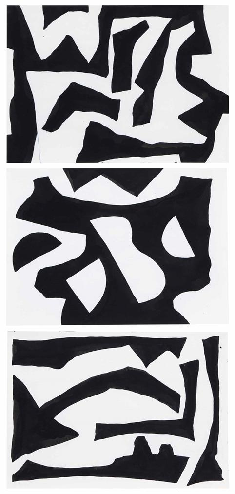 Tony Smith-Untitled (Three Works)-1970