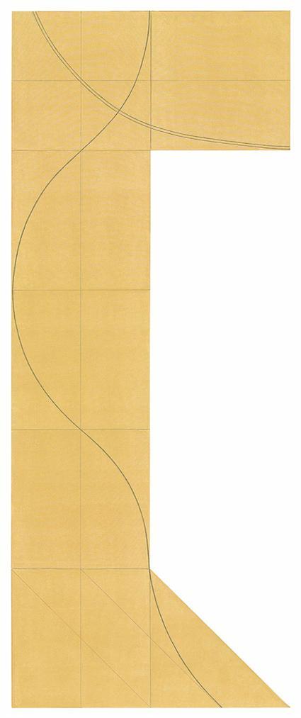Robert Mangold-Column Structure XIII-2007