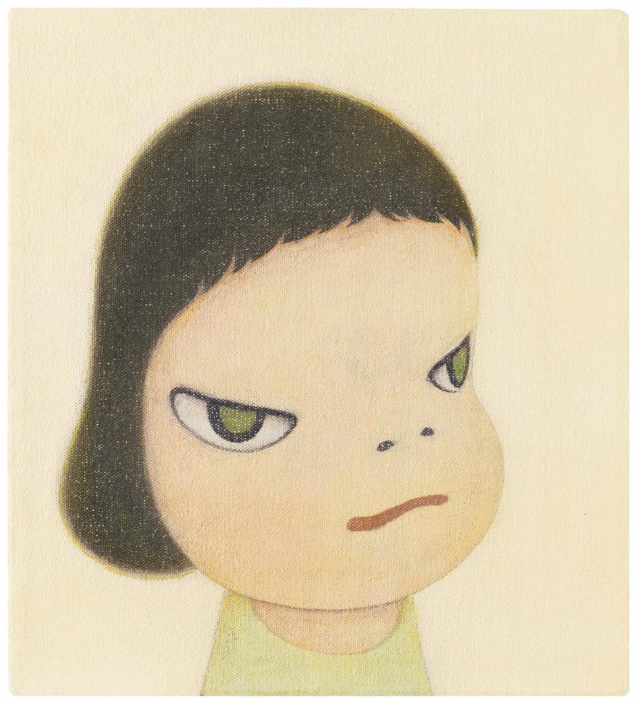 Yoshitomo Nara-Mini Face-2001