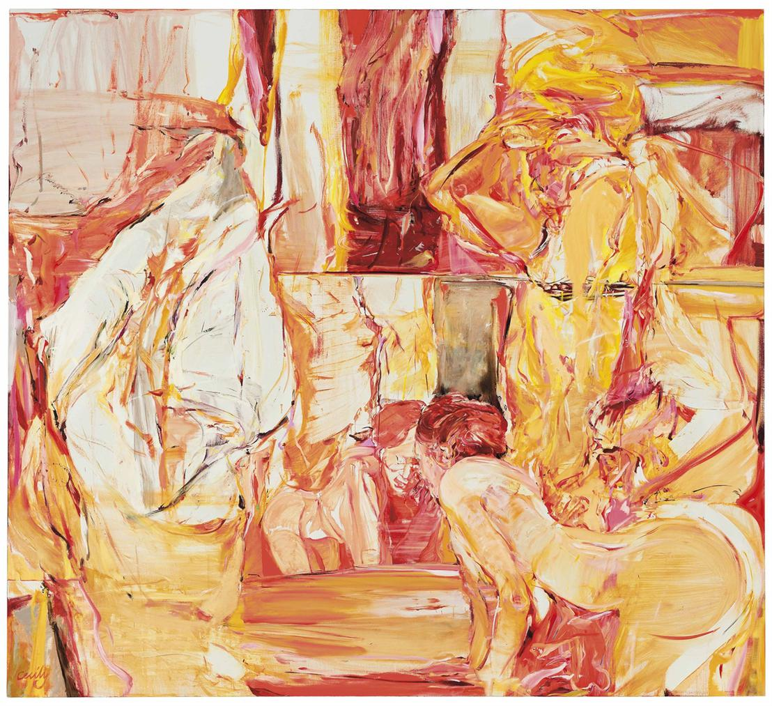 Cecily Brown-Girl Trouble-1999