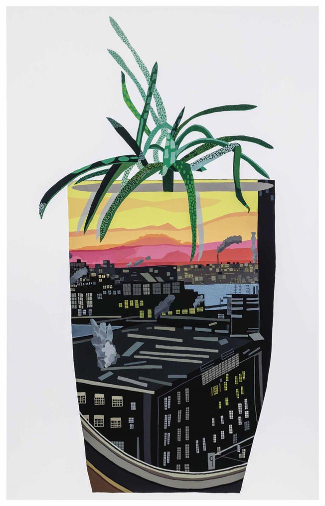 Jonas Wood-Maritime Hotel Pot With Aloe-2014