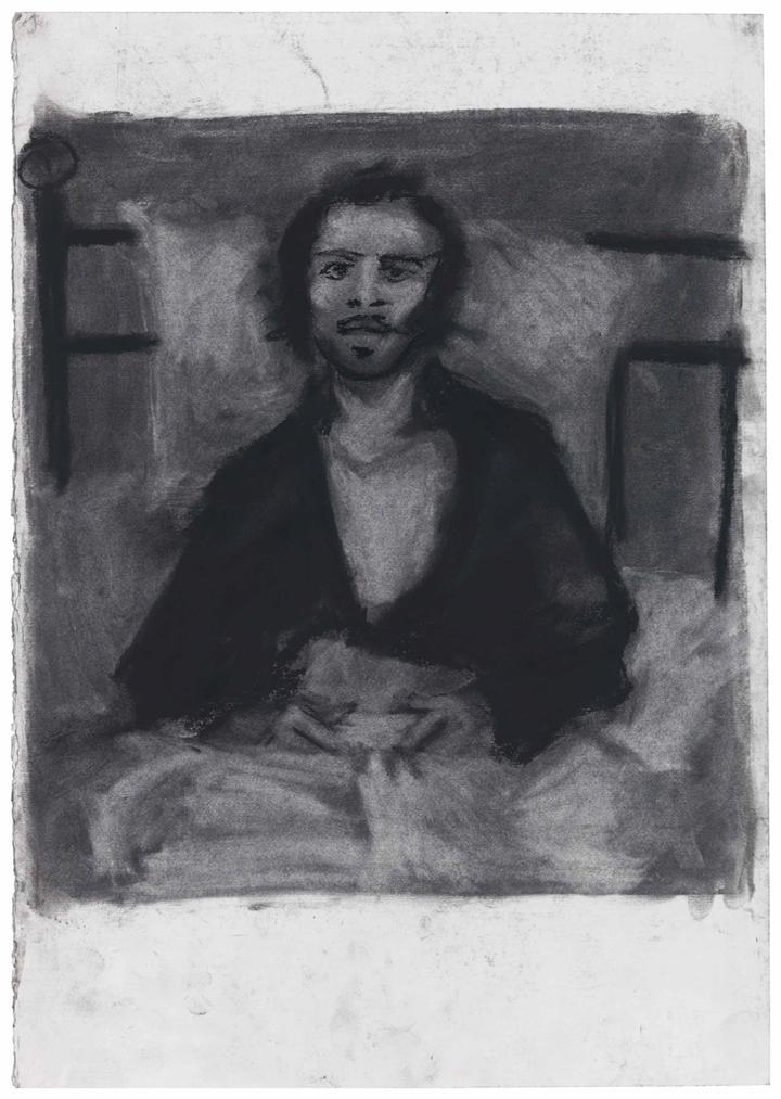 Lynette Yiadom-Boakye-Study For Sack-2005