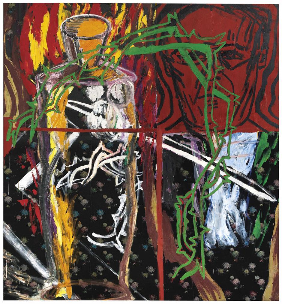 Julian Schnabel-Fouffi-Nouti In Hell-1981