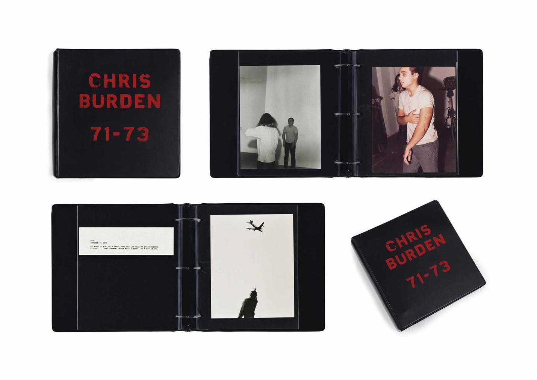 Chris Burden-Deluxe Photo Book: 1971-73-1974