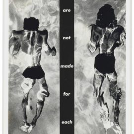 Barbara Kruger-Untitled (We Are Not Made For Each Other)-1983