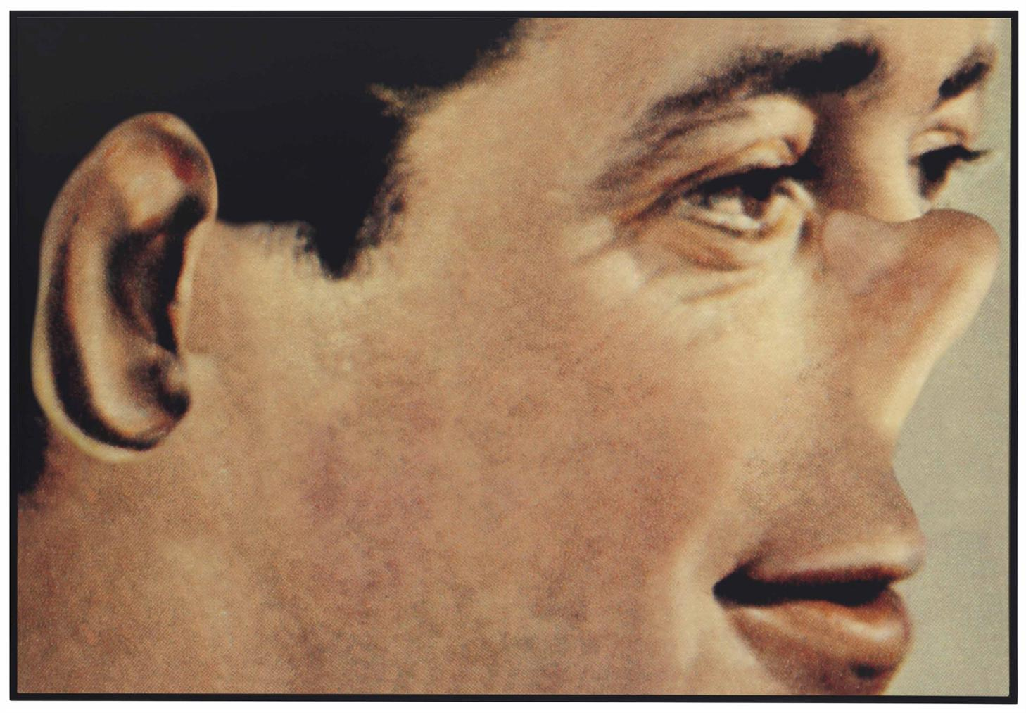 John Baldessari-Noses And Ears, Etc., Part III: Altered Person (Color)-2007