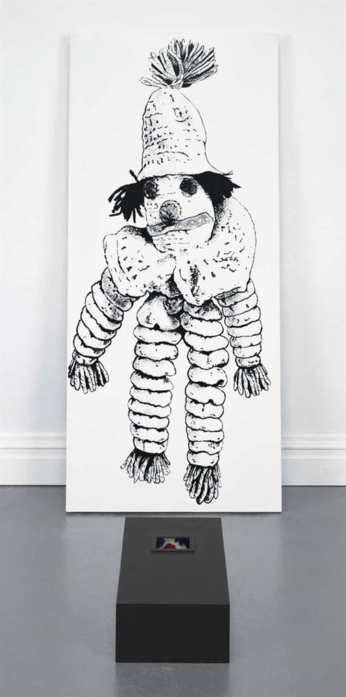 Mike Kelley-Empathy Displacement: Humanoid Morphology (2Nd And 3Rd Remove) #8-1990