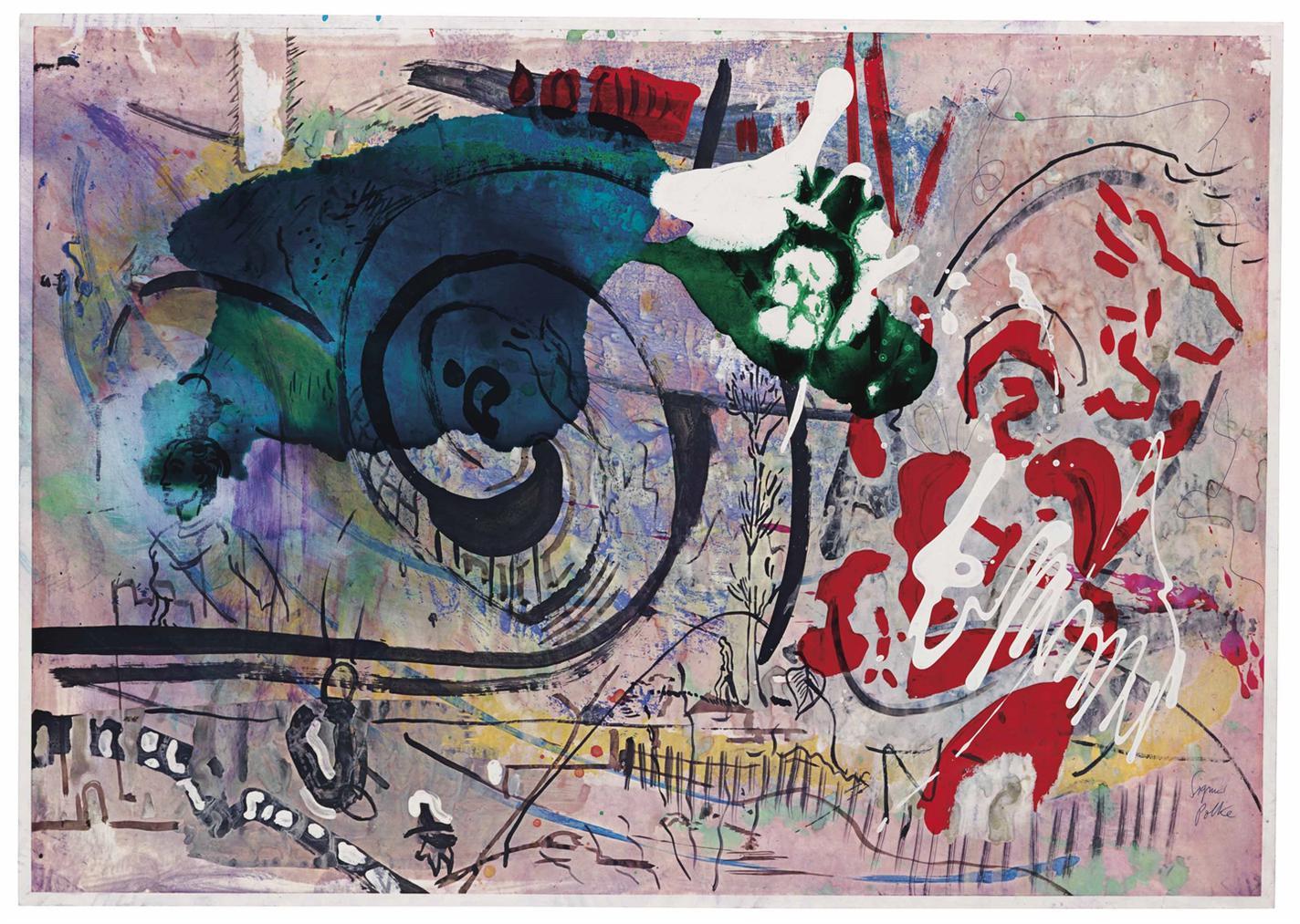 Sigmar Polke-Untitled [Monchengladbach 1983]-1983