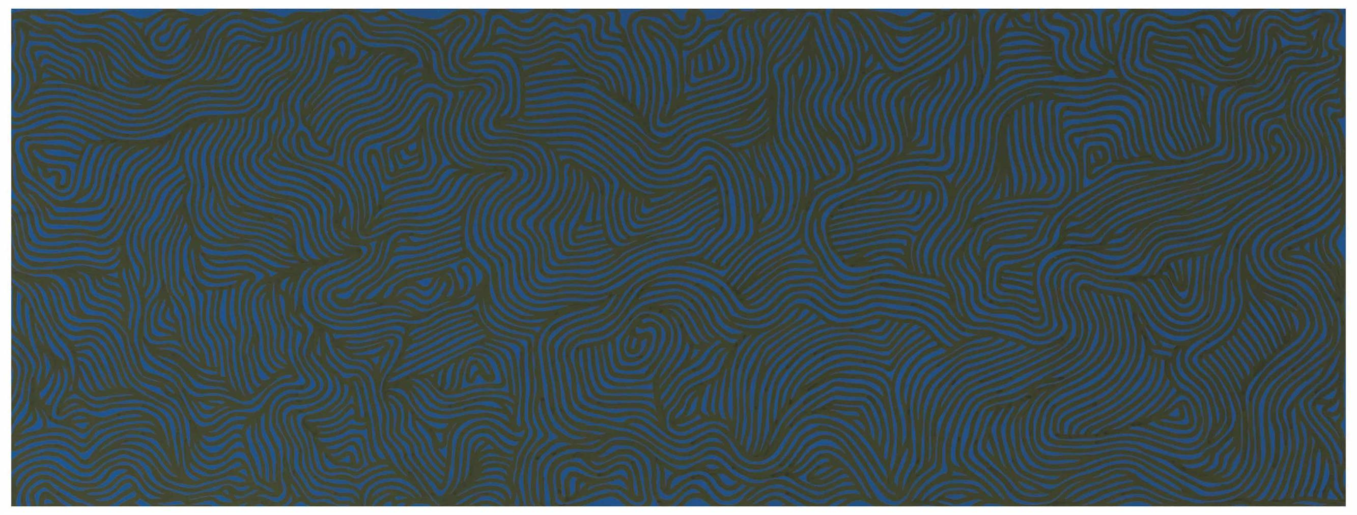 Sol LeWitt-Irregular Curves-2000