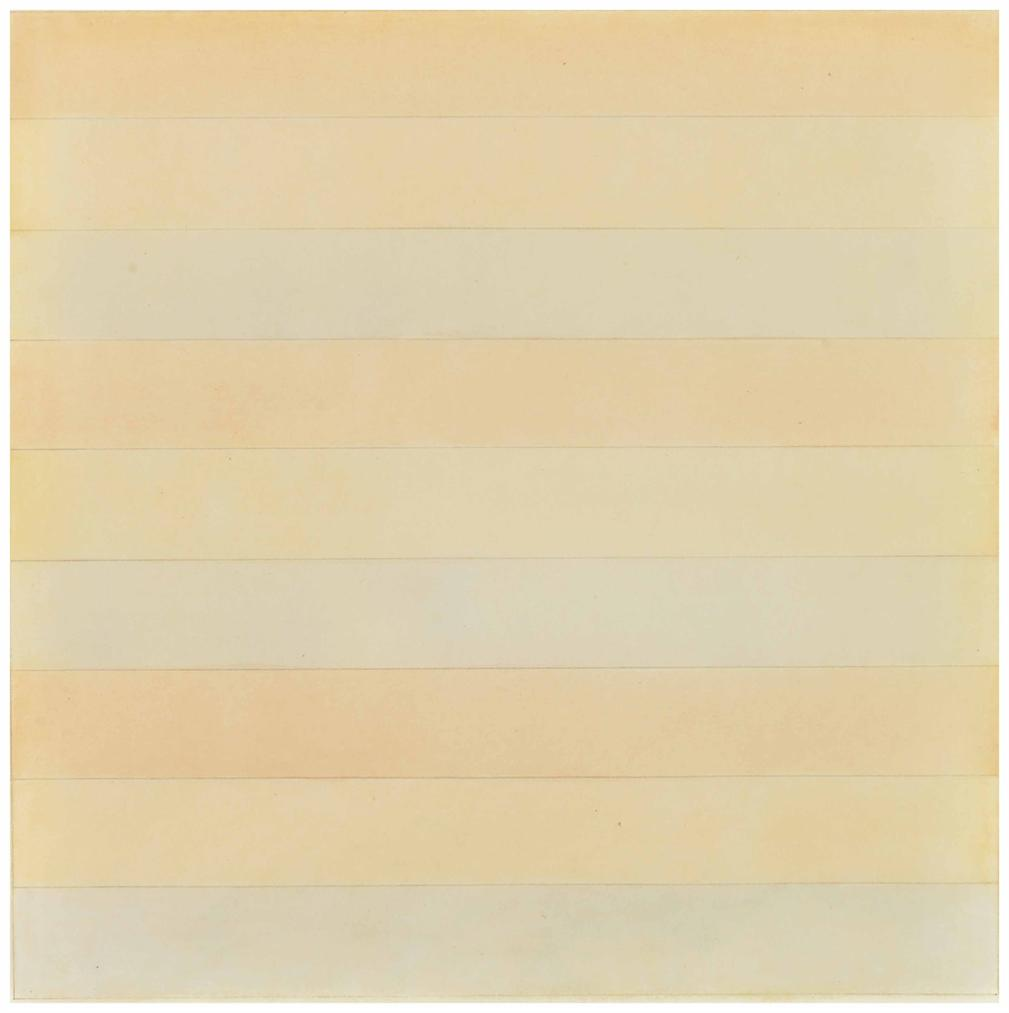 Agnes Martin-Untitled-1977