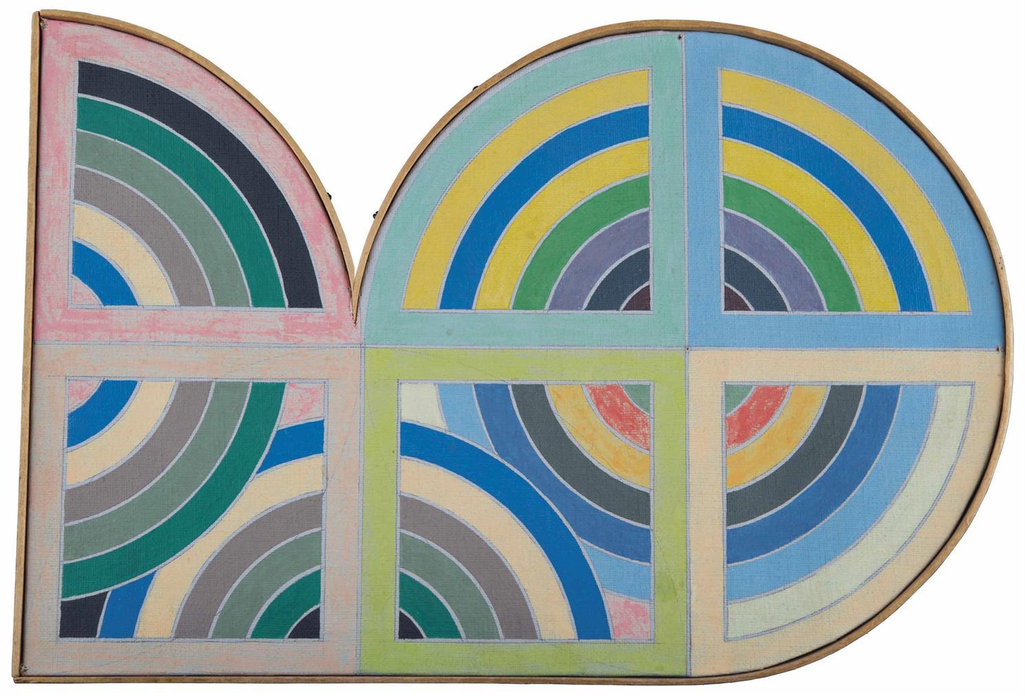 Richard Pettibone-Frank Stella, Gur II, 1967-1968
