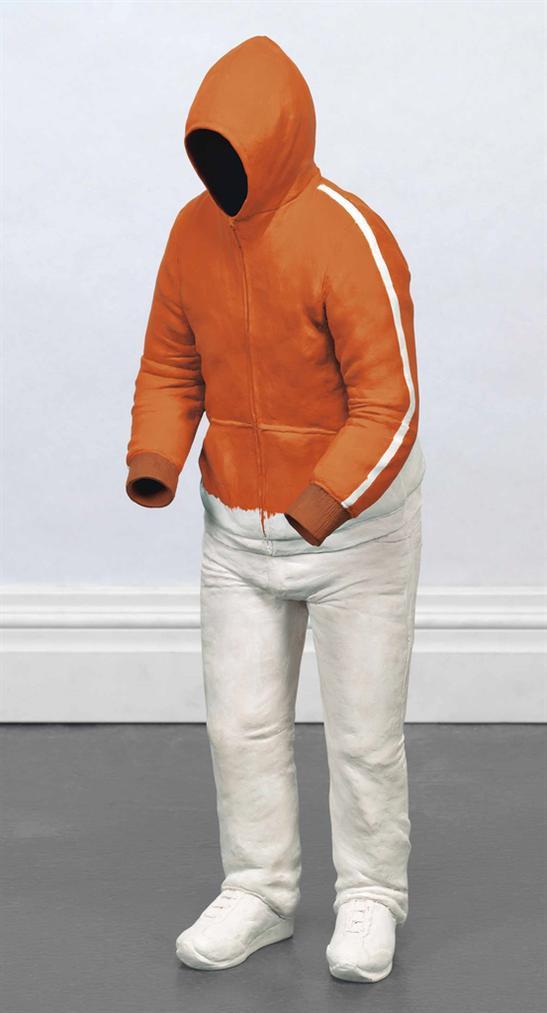 Erwin Wurm-Orange Hoody-2012