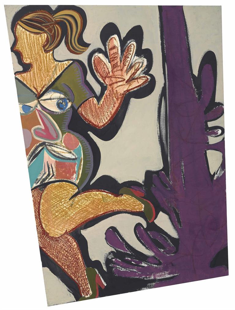 Ella Kruglyanskaya-Paint Spill 2-2011