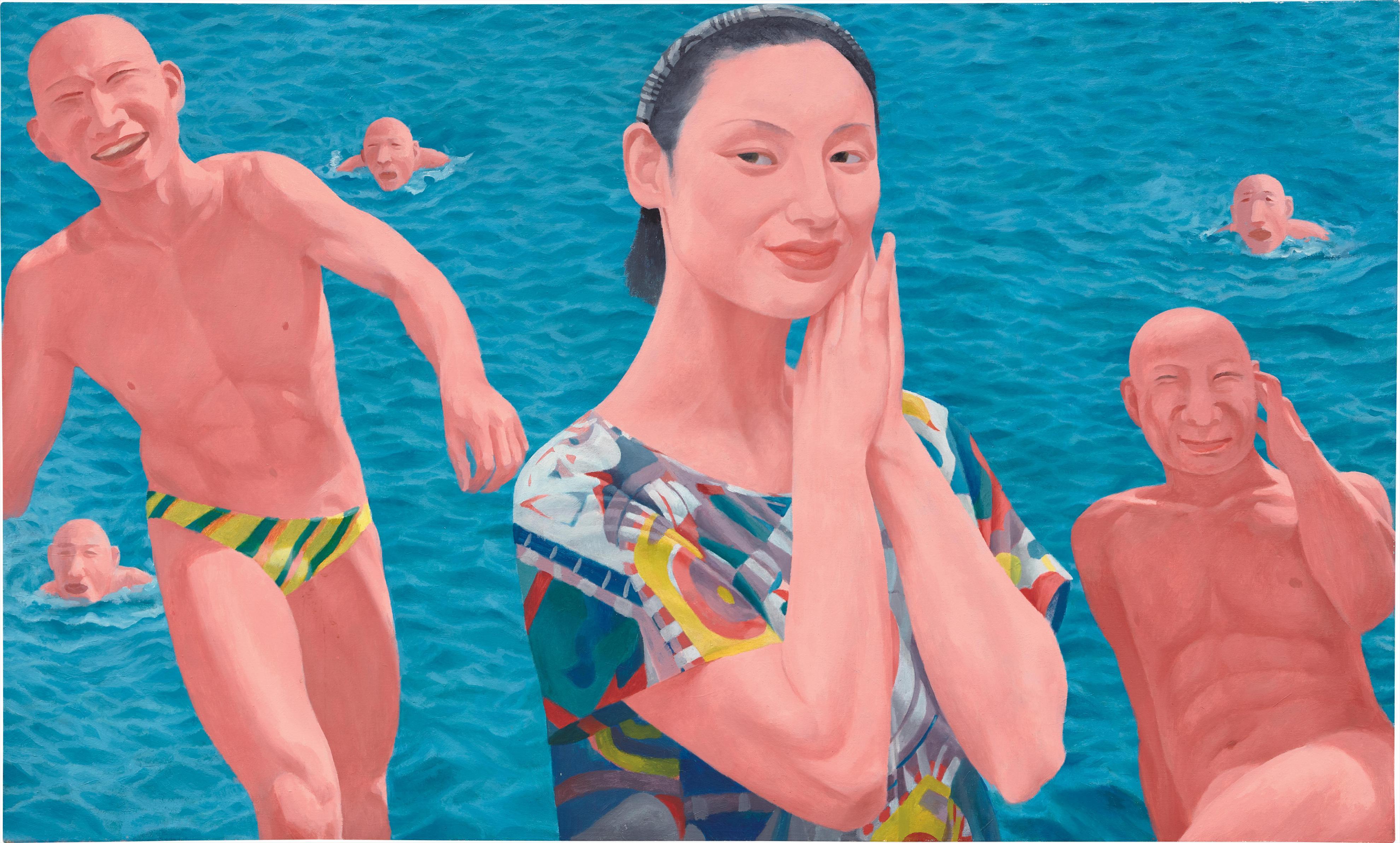 Fang Lijun-Series 2 No.10-1993