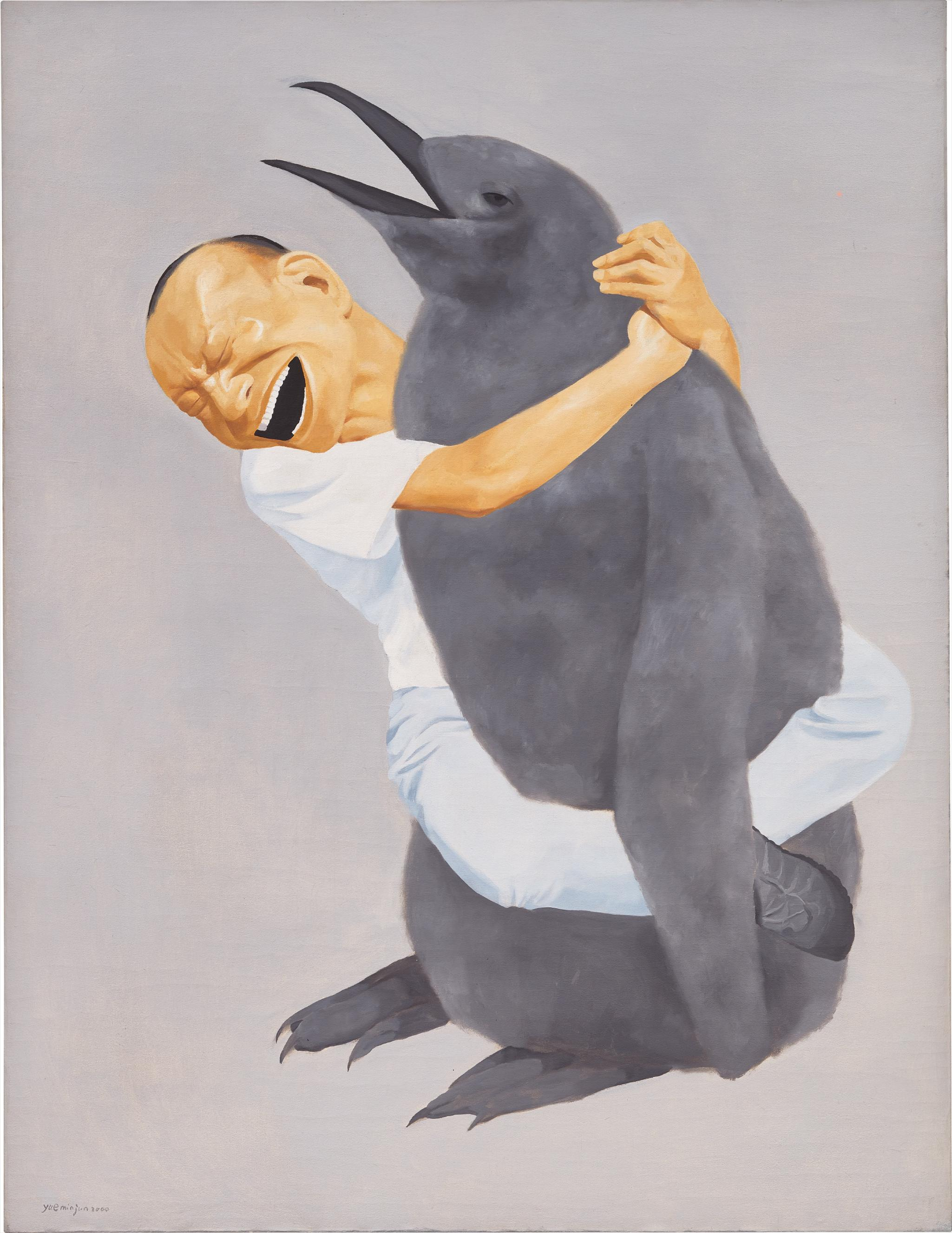 Yue Minjun-Penguin-2000