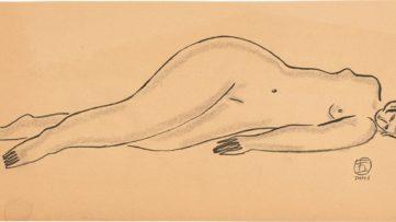Sanyu-Reclining Nude