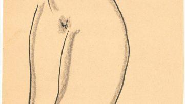 Sanyu-Standing Nude