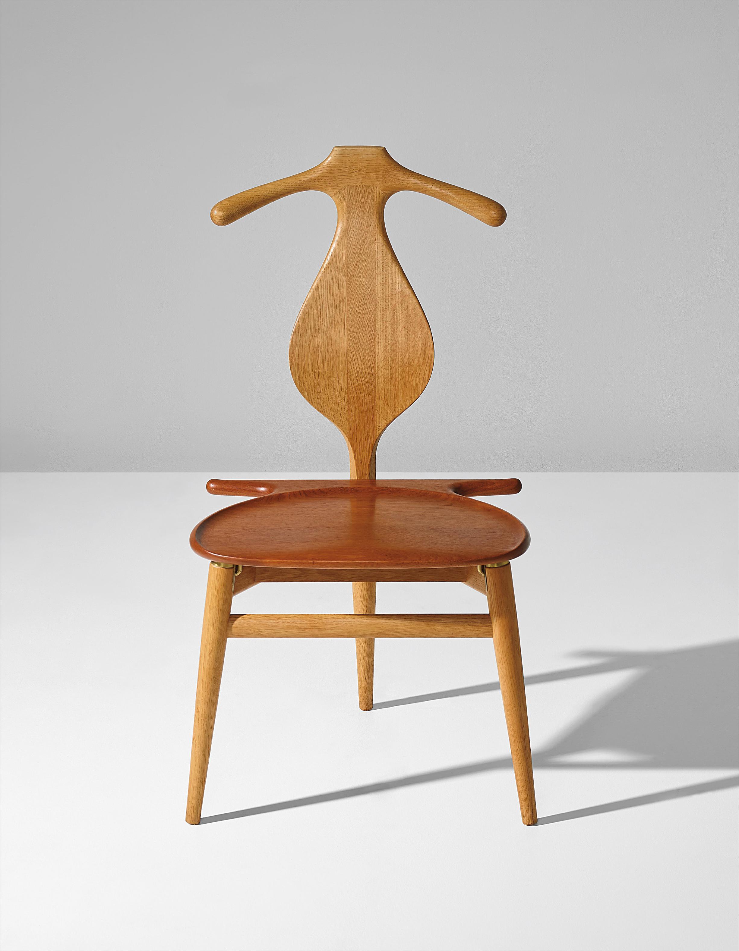 Hans J. Wegner-Valet Chair, Model No. Jh540-1953