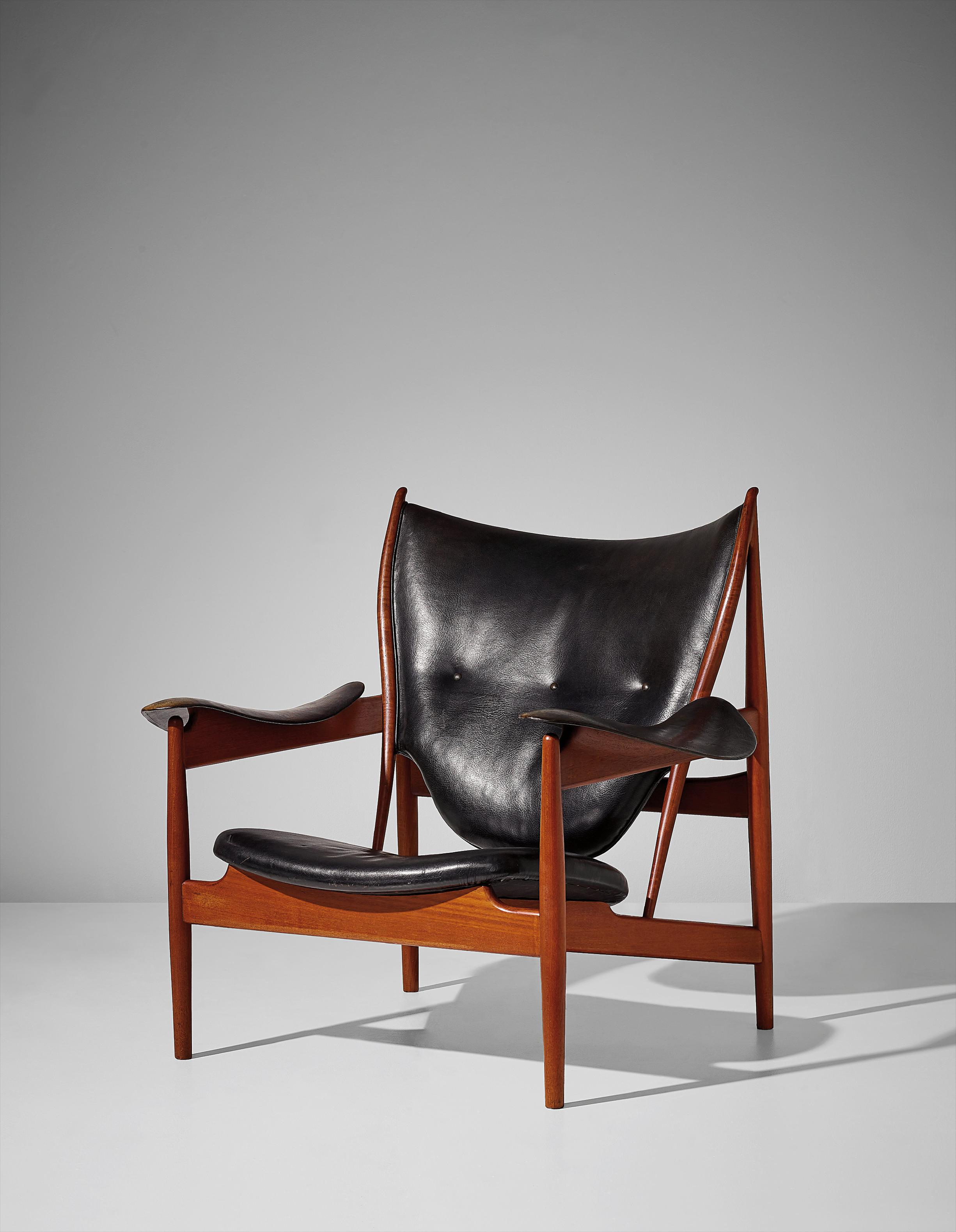 Finn Juhl-Important And Early Chieftain Armchair, Model No. Fj 49 A-1949
