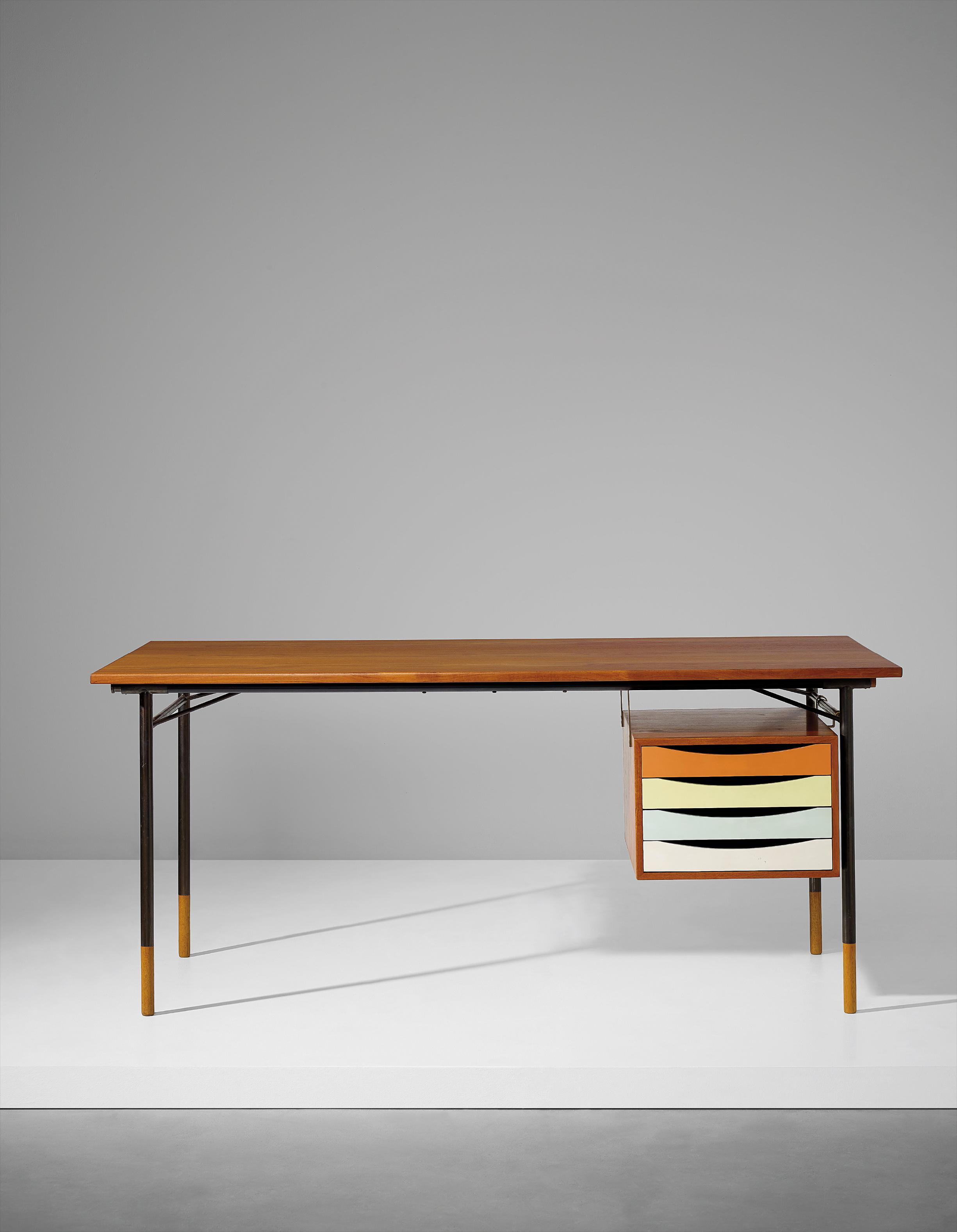 Finn Juhl-Desk, Model No. Bo69-