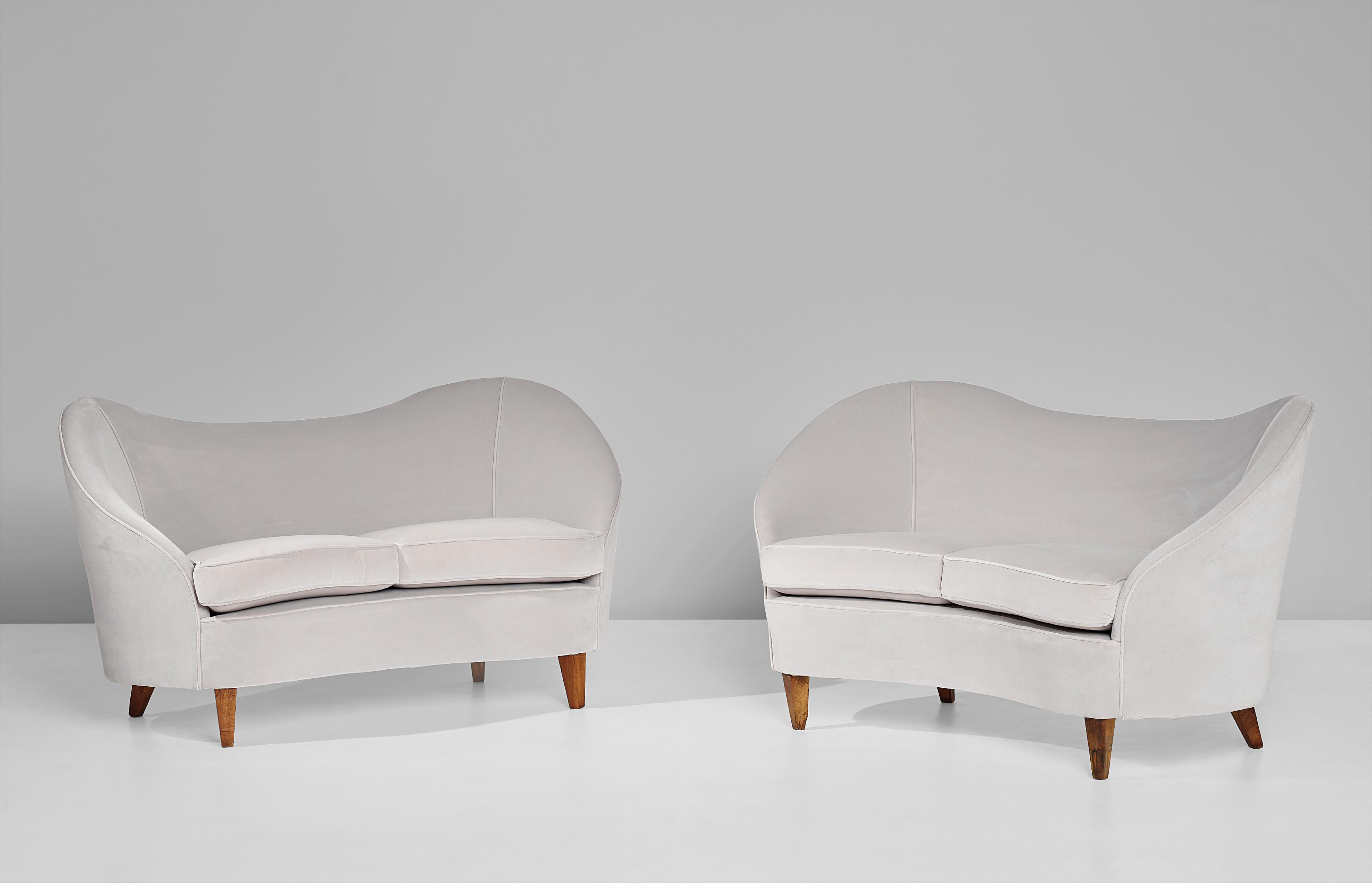 Gio Ponti-Pair Of Two-Seater Sofas-1938