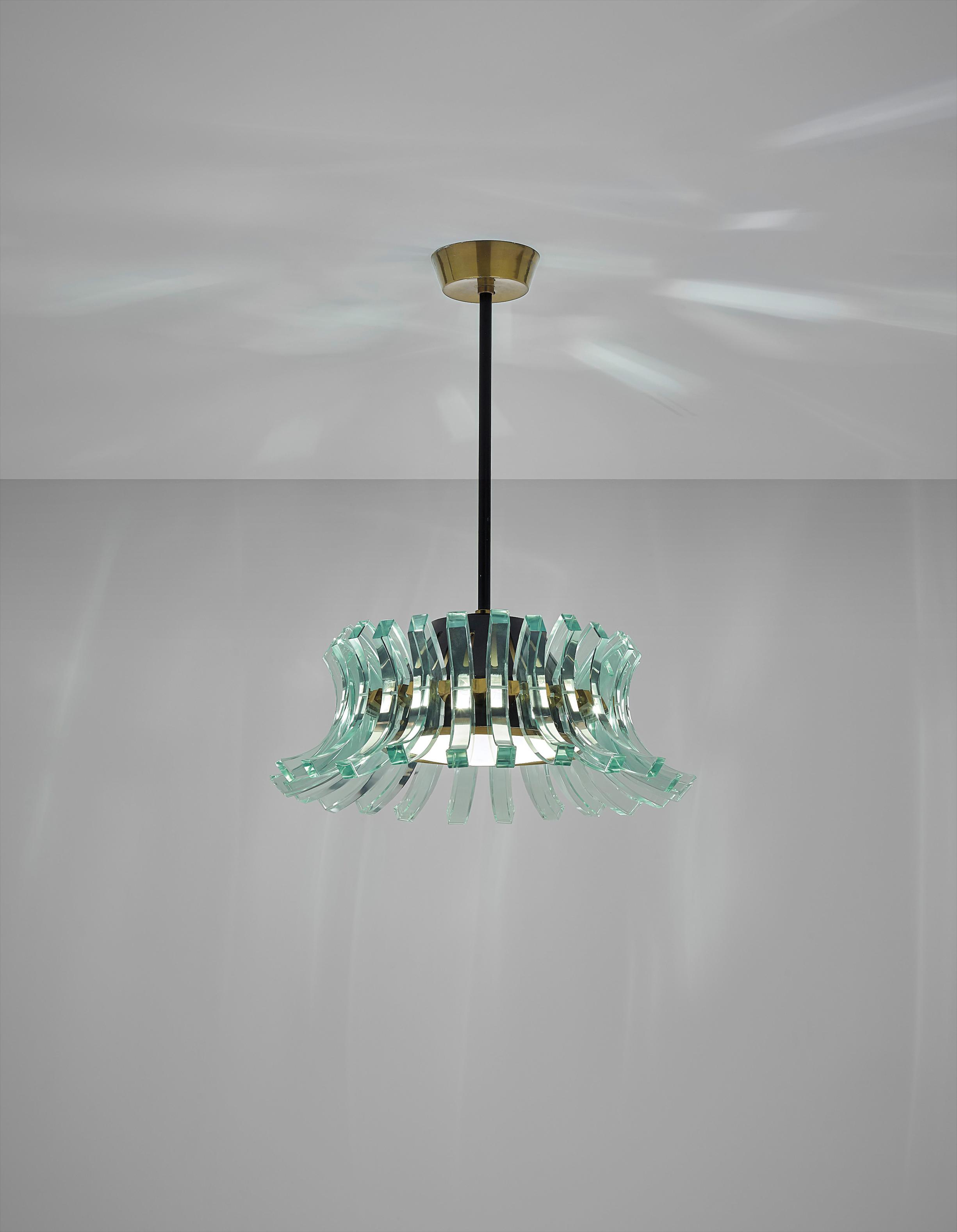 Max Ingrand - Rare Chandelier-1958