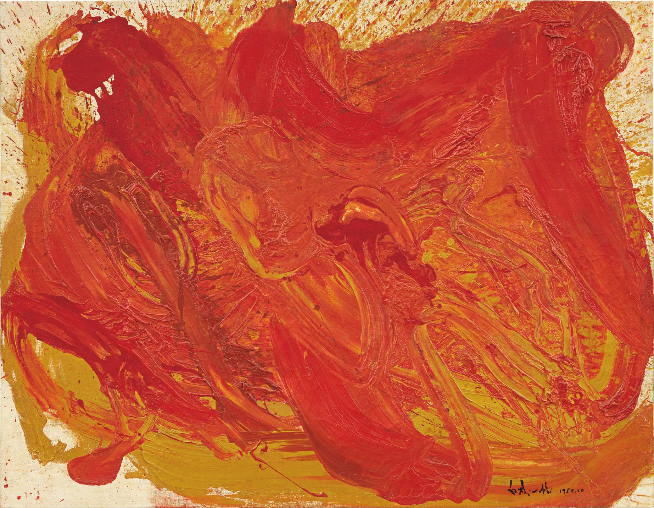 Kazuo Shiraga-Untitled-1959