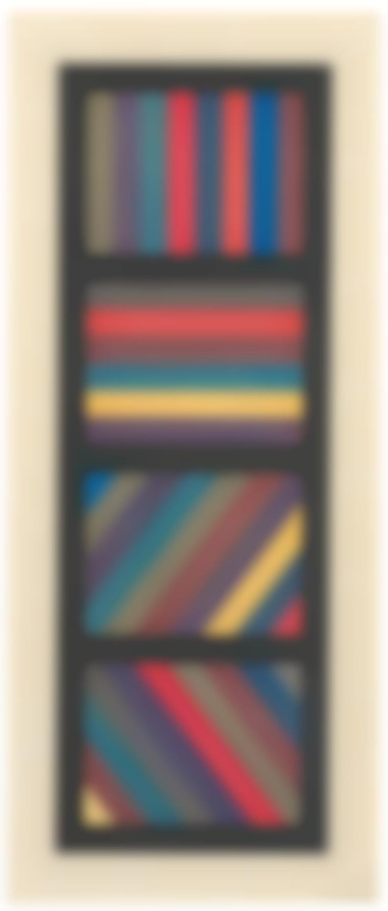 Sol LeWitt-Bands Of Lines In Four Directions (Vertical)-1994