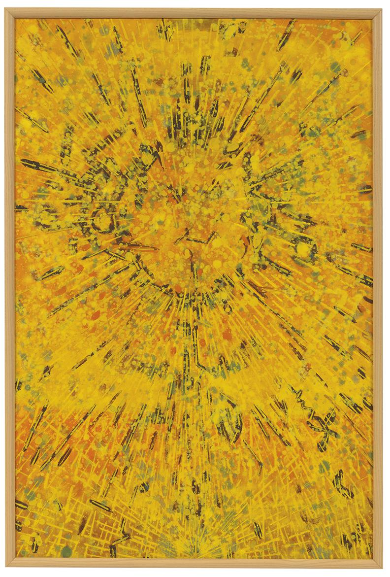 Lee Mullican-Untitled-1989