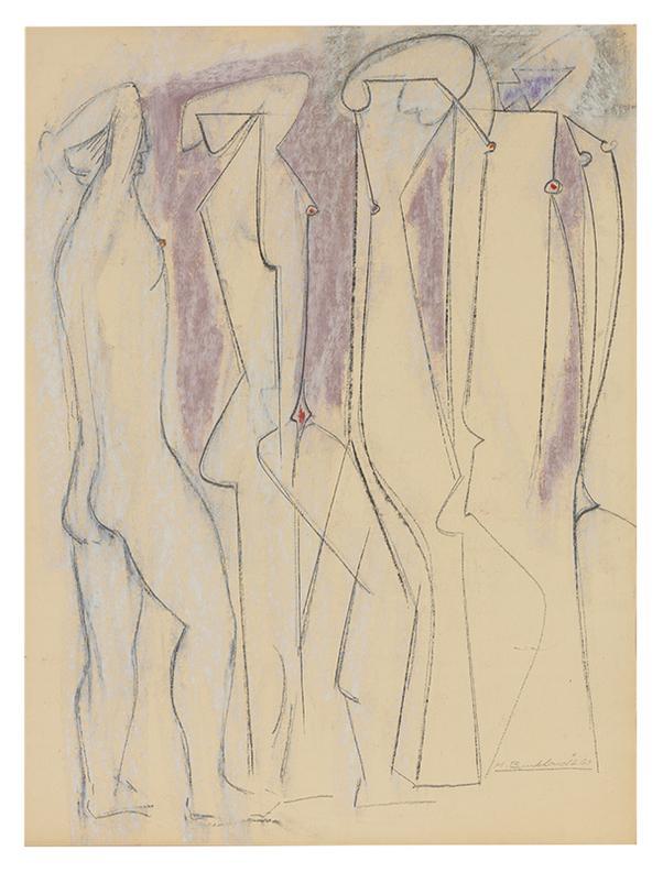 Hans Burkhardt-Untitled-1967