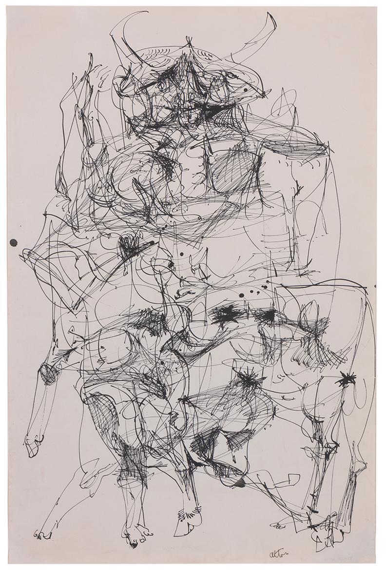 John Altoon-Minotaur-1958