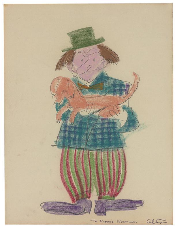 John Altoon-Untitled (Clowns) (2)-1967