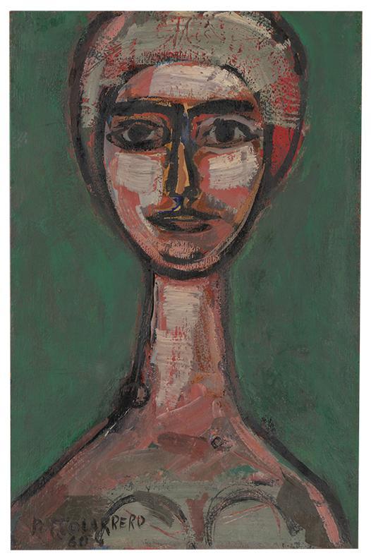 Rene Portocarrero-Retrato De Una Mujer-1960