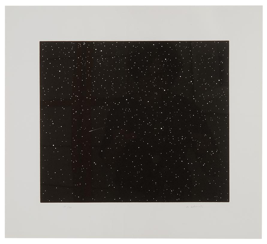 Vija Celmins-Comet (From Skowhegan Suite)-1992