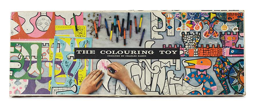 Charles & Ray Eames - The Colouring Toy-1955