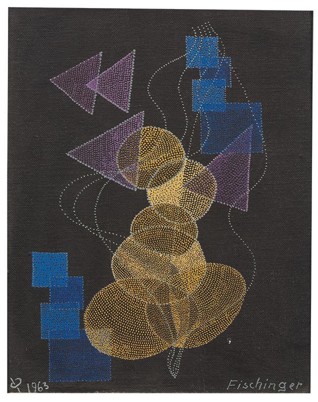 Oskar Fischinger-Untitled (#2123)-1963