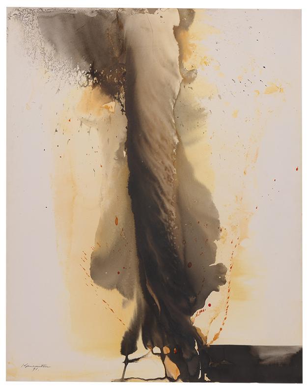 Matsumi Kanemitsu-Black Flame-1971