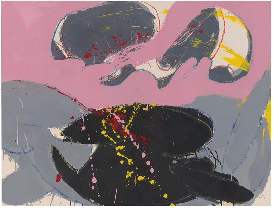 Norman Bluhm-Eve-1973