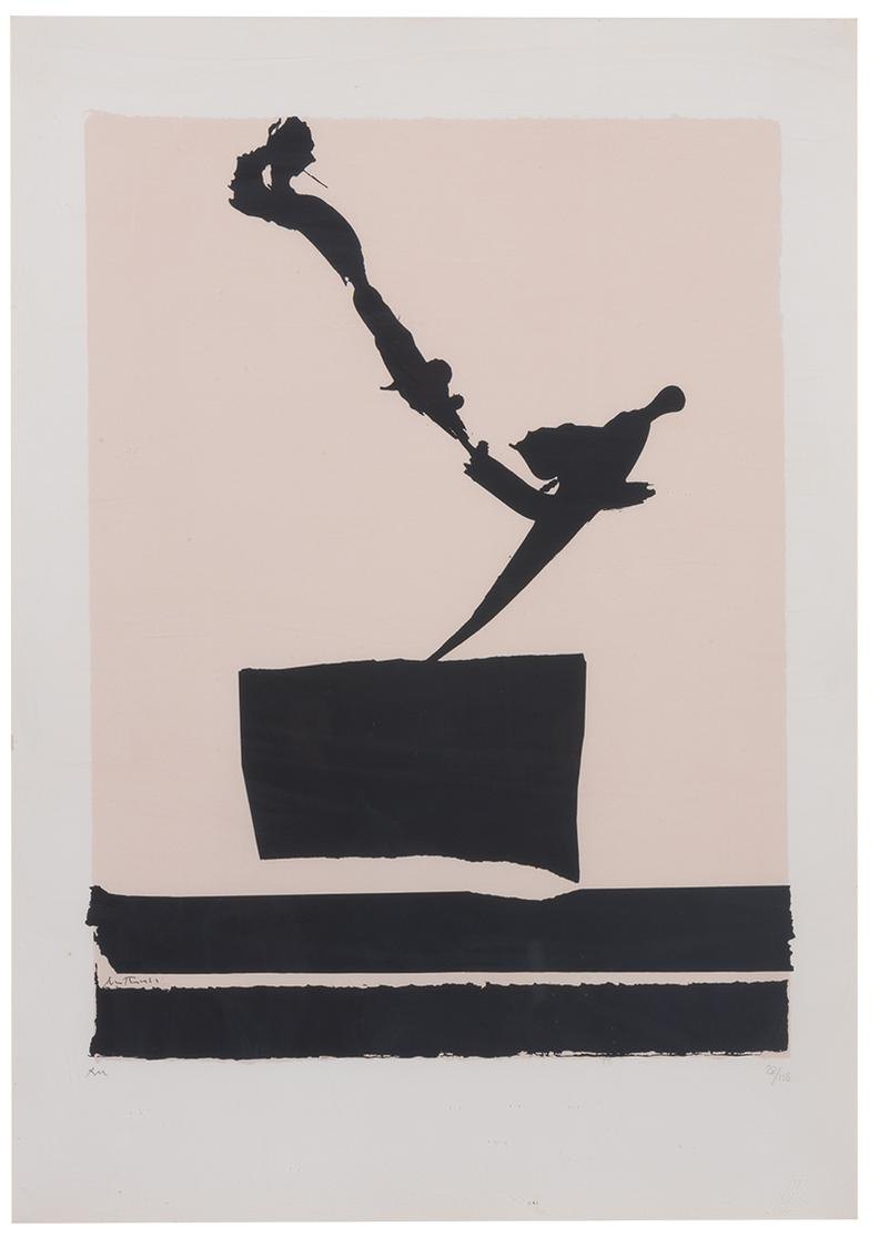 Robert Motherwell-Africa 5 (From Africa Suite)-1970