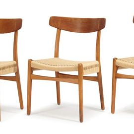 Hans J. Wegner-Dining Chairs (6)-1951