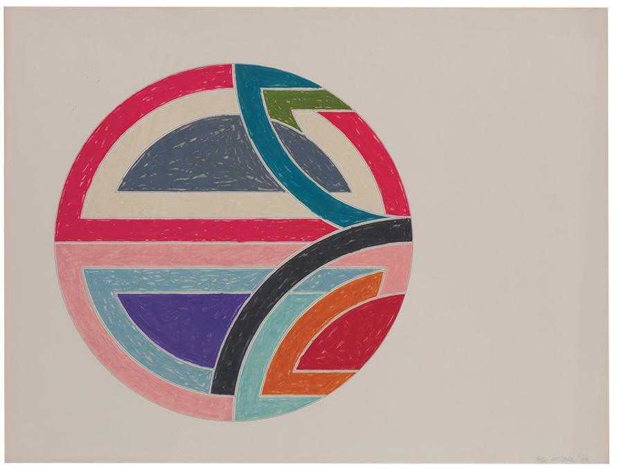 Frank Stella-Sinjerli Variation Ia-1977