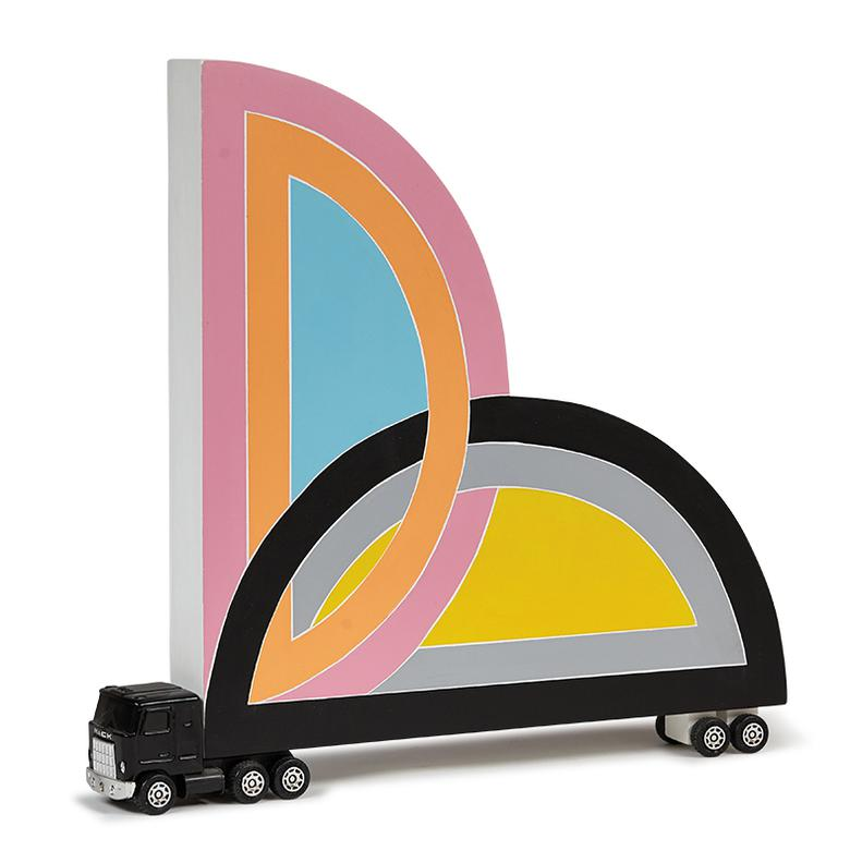 Bruce Houston - Untitled (Homage To Frank Stella)-2011