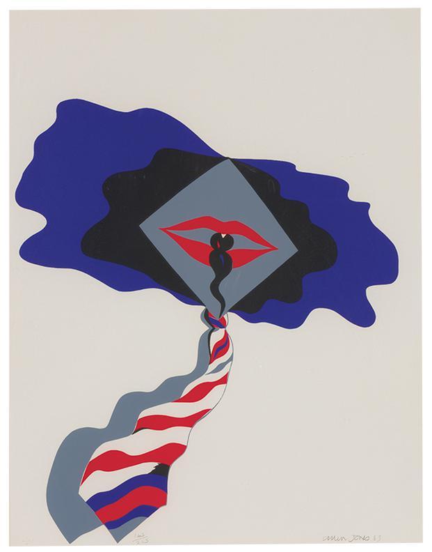 Allen Jones-Self (From New York International Portfolio)-1965