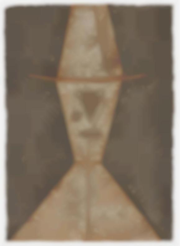Rufino Tamayo-Cabeza; Cabeza Con Sombrero (2)-1977