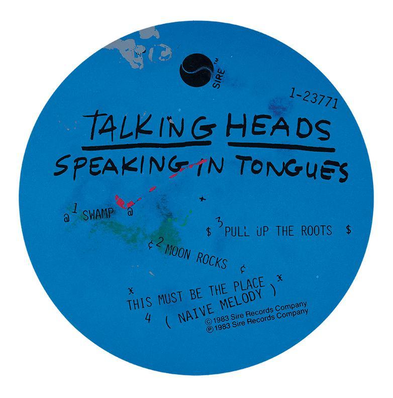 Robert Rauschenberg-Talking Heads, Speaking In Tongues-1983